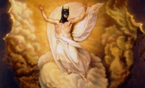 Christ As Batman.