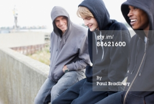 Which Of These Young Punks In Hoodies Is Thinking About Rape?