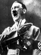 Hitler Shouting Anti-Semitic Slurs At Abraham