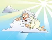 God Peeping At Hot Babes