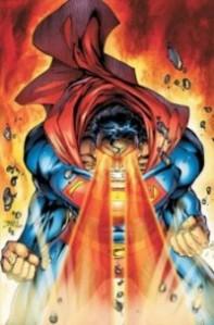 Superman Reducing Batman To Ash