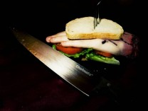 A Tasty Hand Sandwich