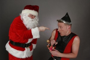 Santa Firing Hermie The Elf