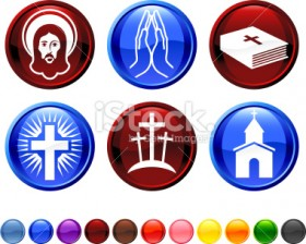 Symbols Of The Christian Conspiracy Which Has Taken Over Our Country