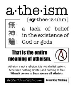 Atheism Defined