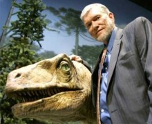 Ken Ham And His Reptilian Space Alien Bodyguard,