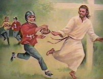 Jesus Loves Football As Much As He Loves Hating Fags