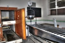 Morgue Exam Table