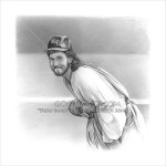 Jesus As Cubs Pitcher