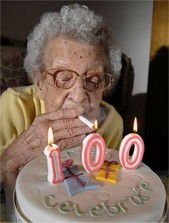 Lucy, Lucifer's Mom, On Her 100th B-Day