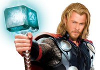 A Fully Dressed Thor With Mjolnir