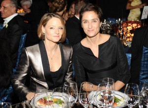 Newly Weds Jodie Foster And Alexandra Hedison