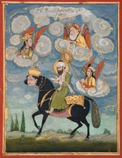 Hey Guys, Why'd Mohammad Tie Her Head To His Horse's?