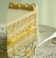 Lemon Cake With Frosting Made From The Skin Of Lutherans