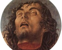 "John The Baptist's Head: ""Not A Bad Smile Considering I'm Just A Severed Head, eh?"""