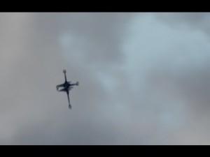 Crucifix-Shaped Christian War Drone
