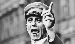 Joseph Goebbels, Mother Fucker Extraordinaire