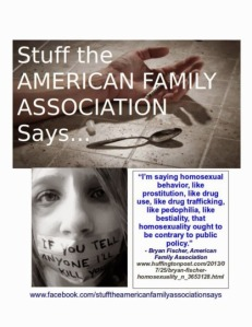 Bryan Fischer & The AFA: We Hate Them