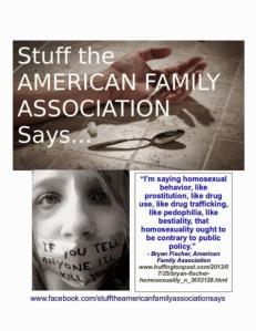 Bryan Fischer & The AFA: We Hate Them