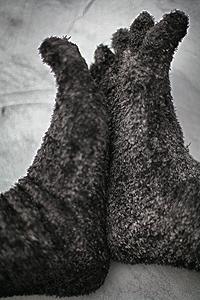 Rat-Hair Socks