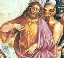 Anti-Christ Pointing Out To Christ That His Fly Is Open