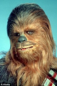 Chewbacca's Passport Pic