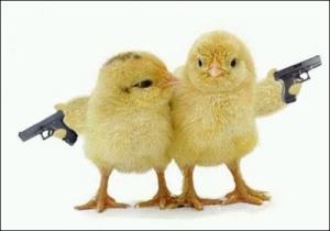 Guns Don't Kill People. Chicks With Guns Kill People.