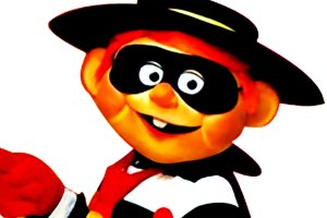 The Hamburglar Shortly After His Arrest