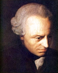 When Jesus Goes To The Bathroom, Does He Leave A Holy Shit Behind?  Immanuel Kant, 1860