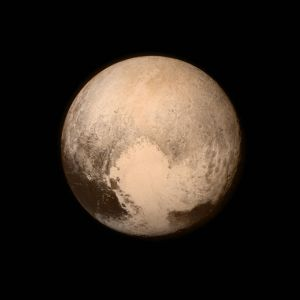 Photo-Shopped Picture Of An Egg NASA Claims Is Pluto