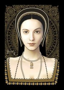 """""""Henry, please, do WHATEVER you have to do to divorce Catherine of Aragon and marry me. It will be GREAT for you, and, I just KNOW, deep down inside, that it will be the best, greatest thing that could ever, ever happen to me. I just KNOW my future with you will be safe, comfy, and secure."""""""