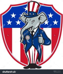 stock-photo-illustration-of-a-republican-elephant-mascot-of-the-republican-grand-old-party-gop-wearing-hat-and-112207634