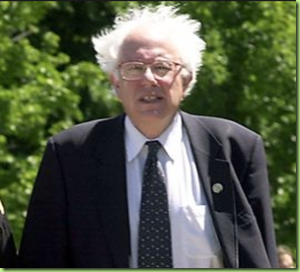 Bernie Sanders And His Sentient Hair
