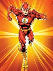 Hi everyone.  Flash here.  I just thought I'd run by and tell everyone about the benefits of having super speed powers.  Well,