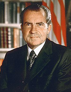 "Richard Nixon was President of the U.S. from 1969 to 1974. His White House man-servant, Jeeves Smithers, said of him after he resigned as President, ""That f*ckin' Dick went and reigned without paying me the remainder of my 70,000 dollar a year salary. If I ever see that squint-eyed bastard again, I'm gonna beat 'em senseless."""