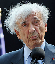 Elie Wiesel: September 30th, 1928 - July 2nd, 2016. His Hair: September 30th, 1928 - ?