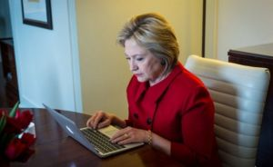 Hillary Clinton About To Grope Her Some Email