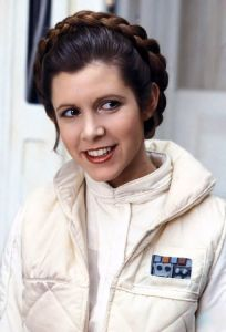 Carrie Fisher. Born: October 21st, 1956 Died: December 27th, 2016