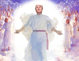 THE Donald Has Replaced Jesus As The Son Of God