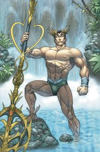 Hi.  Prince Namor, the Sub-Mariner, here.   Before I get started, let me warn everyone reading this, I'm VERY sensitive about 2 things: The tiny wings on my feet, and the big, pointy crown on my head.  Make fun of them, or giggle at them, and I'll stick my big-ass scepter up your tushy.  So, no laughing.  Now, on to business.  As many of you may know, I live underwater in the Kingdom of Atlantis.  Yes, Atlantis, remember now, no laughing.  Thing is, in Atlantis, the only thing we wear are s