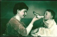 God's First Wife, Rosalind, Teaching Baby Angel Gabriel How To Blow His Horn